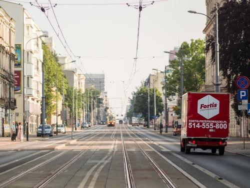 Przeprowadzki w Łodzi na Piotrkowskiej