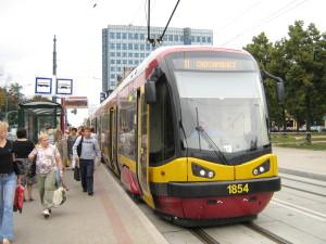 Tramwaj - PESA w Łodzi